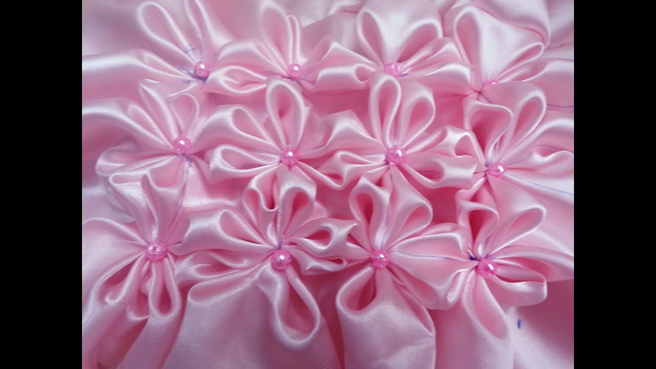 Fabric Flower Pattern Simple Design