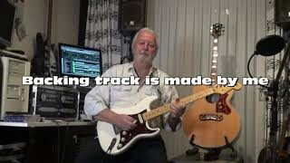 Shine Silently - Nils Lofgren ( cover on guitar by Eric ) видео