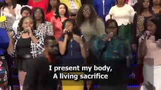 """""""IT'S ABOUT JESUS"""" - NYC Harvest Army Chorale 6.4.17"""