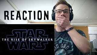 Star Wars Episode IX: The Rise of Skywalker Teaser Reaction