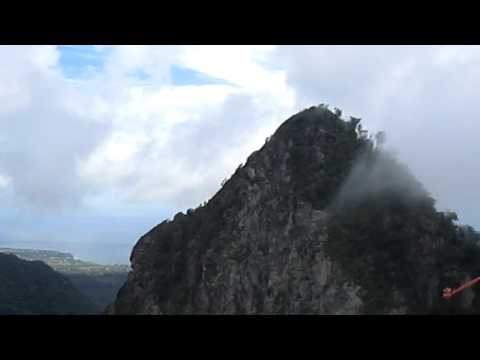 Helicopter Ride Over Saint Lucia - Part 1