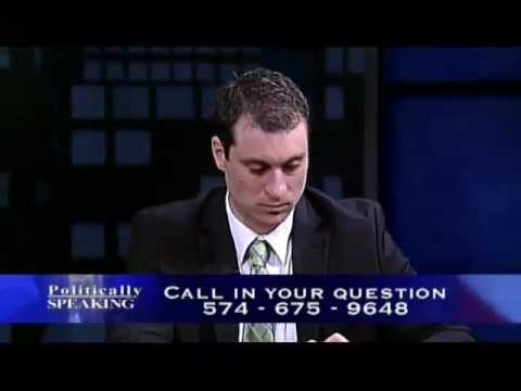 Politically Speaking - 02/26/2012 Indiana General Assembly (Part 3)