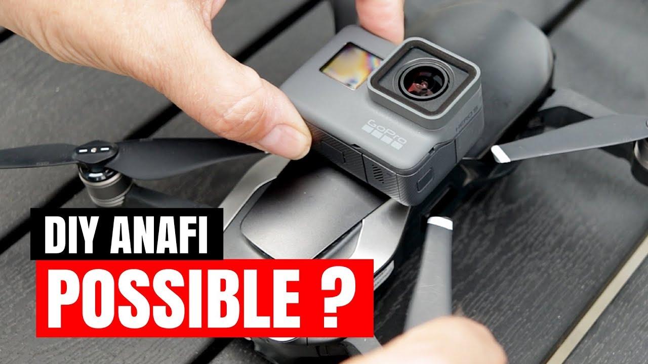Parrot ANAFI Hack - DJI Mavic Air With GoPro Hero