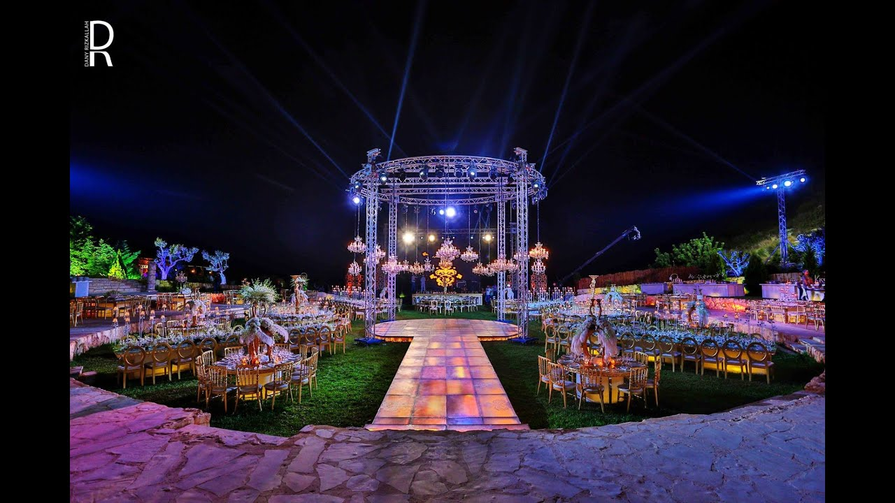 Les Talus Wedding Lebanon Venue Lebanon 30 8 2014 Youtube