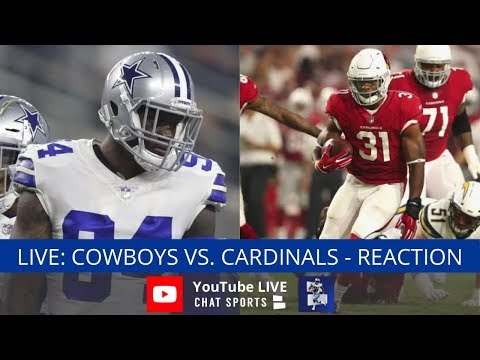 Cowboys Vs. Cardinals Live Streaming Reaction & Watch Party