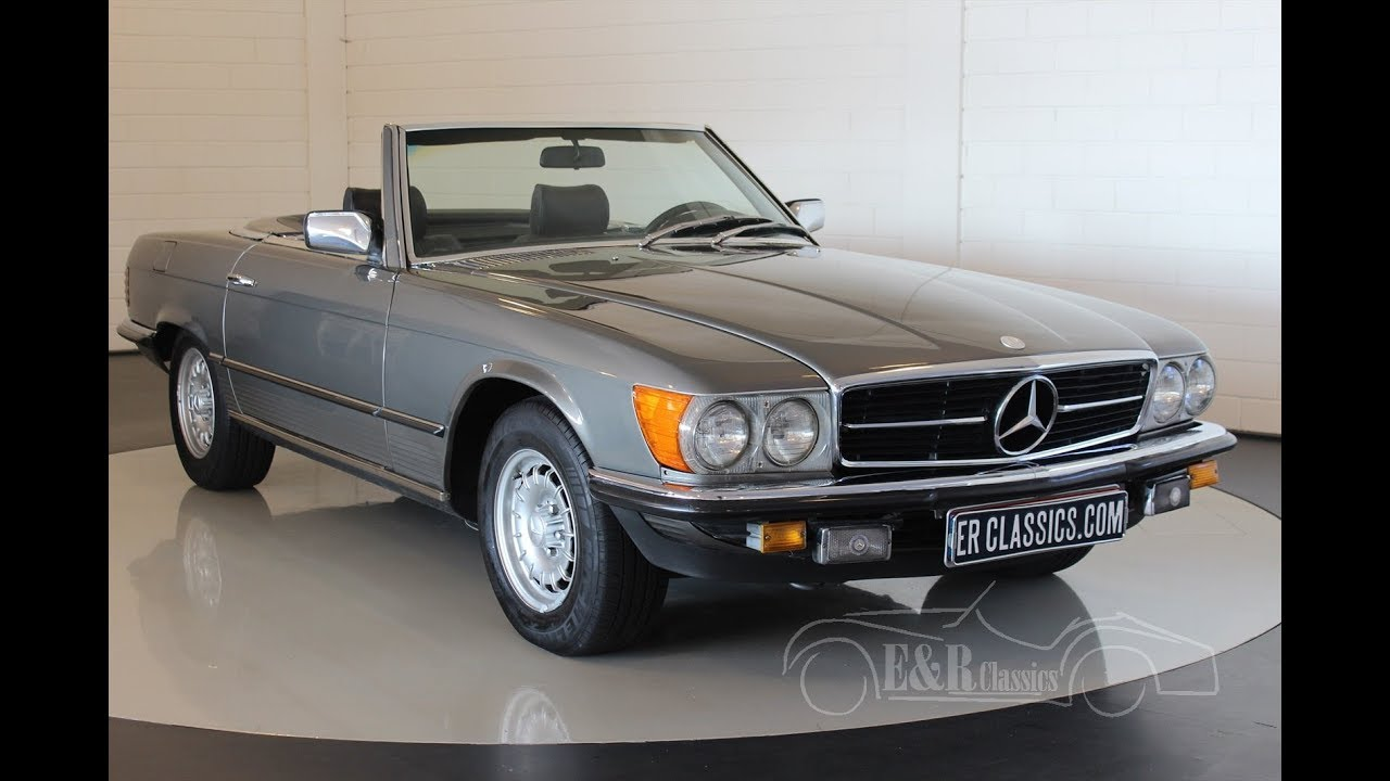 mercedes benz sl 280 cabriolet 1980 video youtube. Black Bedroom Furniture Sets. Home Design Ideas