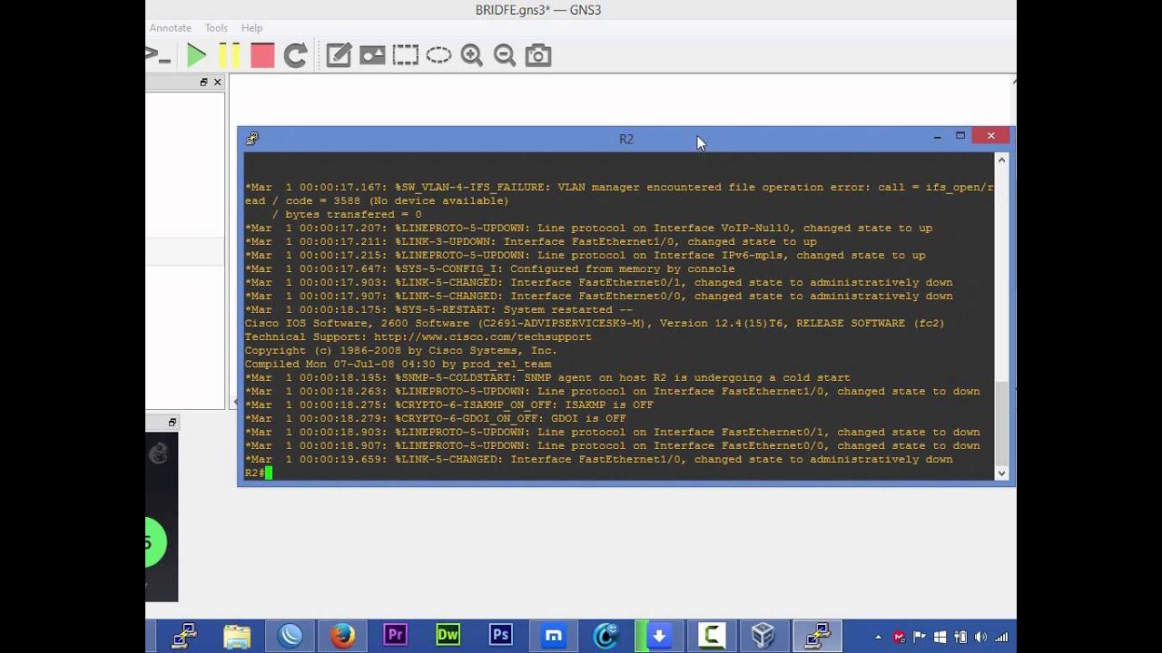 Como configurar roteador Cisco em modo Bridge