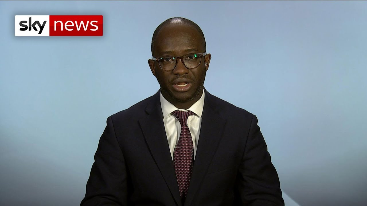 Sam Gyimah 'reluctantly' resigns