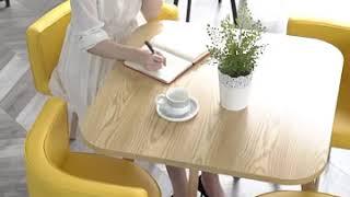 원형테이블 의자세트 작은4인용식탁 카페테이블