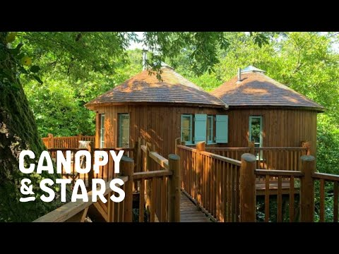 The Treehouse And The Yurt At Harptree Court Sawday S Canopy