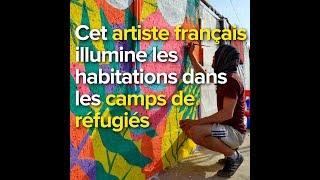 Cet artiste français illumine les habitations dans les camps de réfugiés