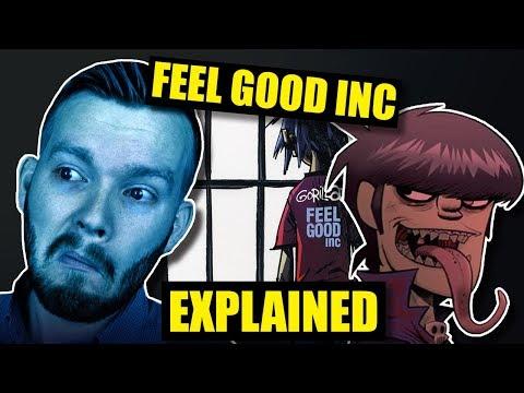 Feel Good Inc  Gorillaz Is SUPER DEEP!  Lyrics Explained