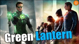 Green Lantern Featured in Justice League Promotional material