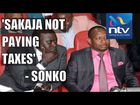 Governor Sonko exposes Senator Sakaja's businesses in Nairobi
