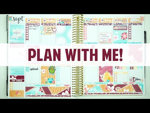 SPARKS FLY -- Little Miss Paperie || Plan With Me