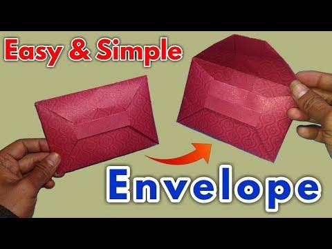 Small Business Idea    paper Envelope    Origami Envelope Tutorial