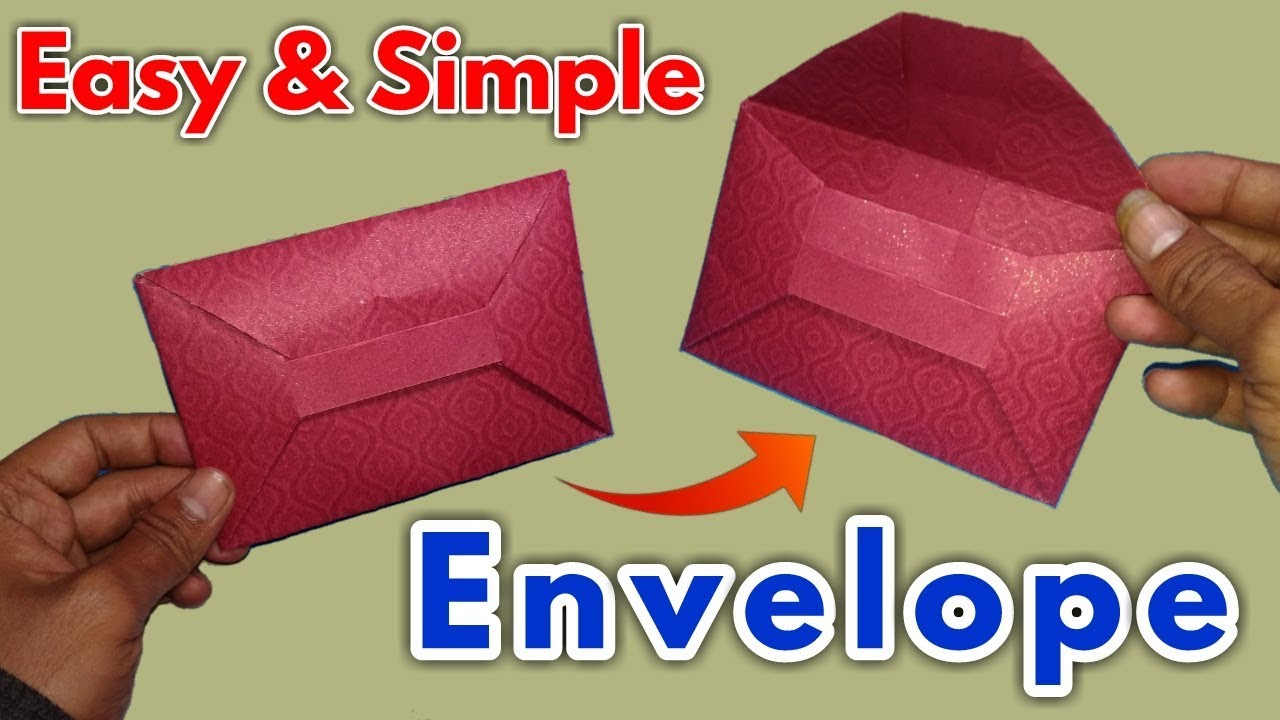 Small Business Idea How To Make A Paper Envelope Super Easy