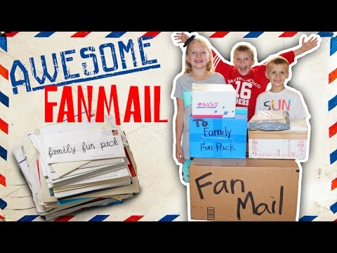 Fan Mail From Japan, Norway, UK, Canada, Australia, and USA