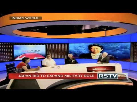 India's World - Japan bid to expand military role