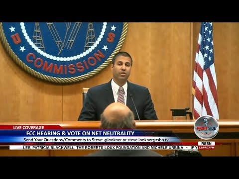 🔴 WATCH: FCC Net Neutrality Hearing & Vote