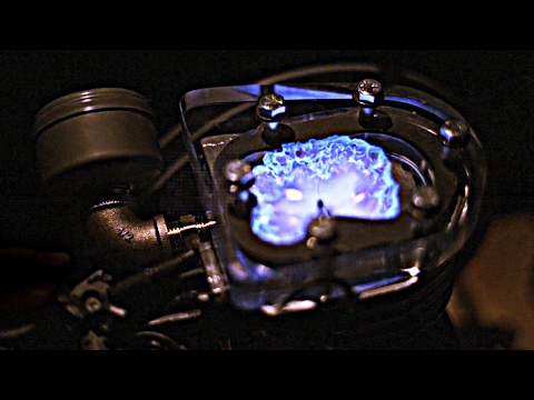 How Engines Work - (See Through Engine in Slow Motion) - Sma