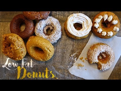 Heart Healthy Low Fat Donuts   Tiger Fitness