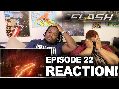 The Flash Season 3 Episode 22 : REACTION WITH MOM!