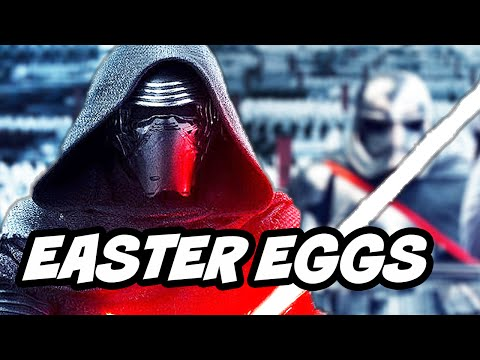 Star Wars The Force Awakens Easter Eggs Part 2 - Kylo Ren