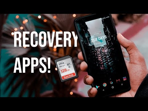 Top 3 Best Mobile Data Recovery Apps - Android (2018)!