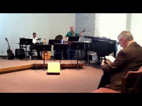 The Old Rugged Cross, arr. by Craig Curry. Performed by the jazz trio at Woodbury Baptist Church