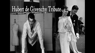 Hubert de Givenchy, French fashion designer, famed for styling Audrey Hepburn dies aged 91