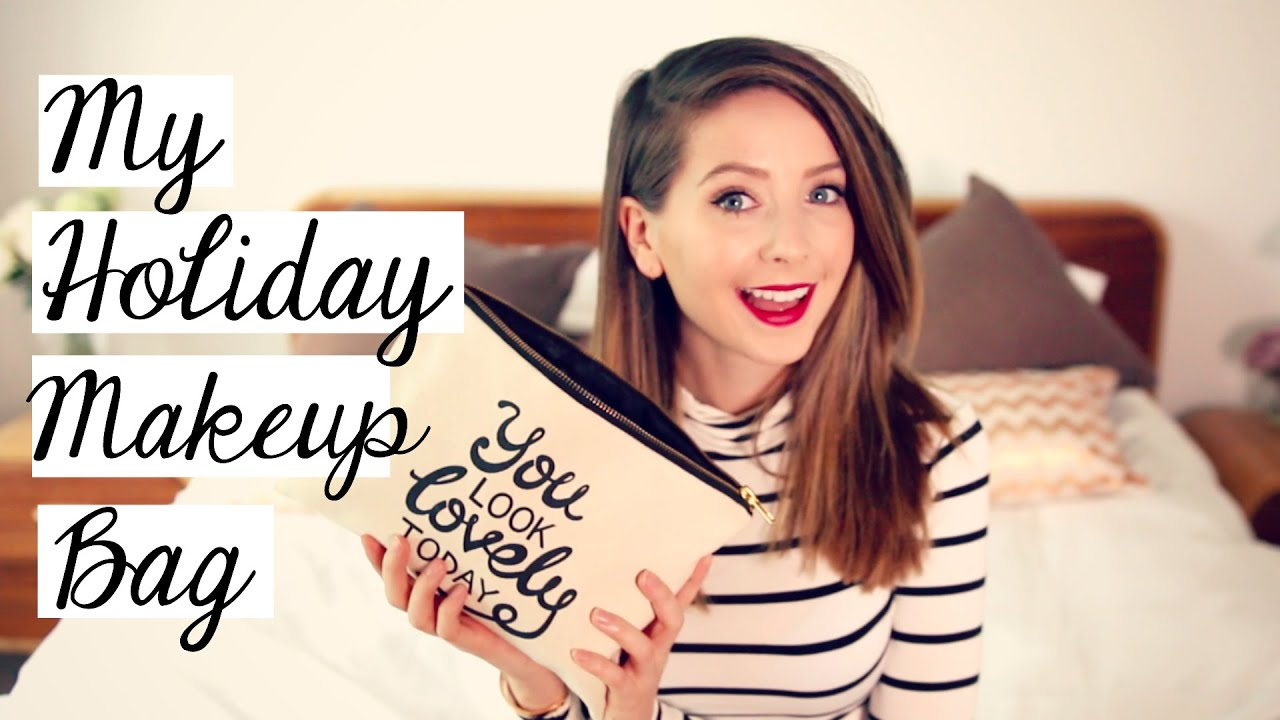 My Holiday Makeup Bag Zoella You