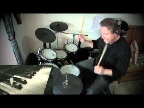 Ebony & Ivory - Paul McCartney & Stevie Wonder (Drums)