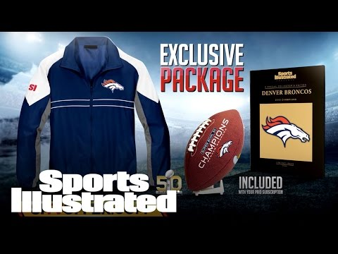 SUPER BOWL 50 Broncos Championship Package | Sports Illustrated