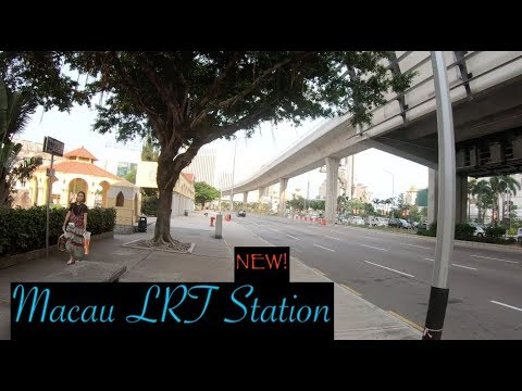 Macau Light Rail Transit [MLRT]: Galaxy/Taipa Village Station