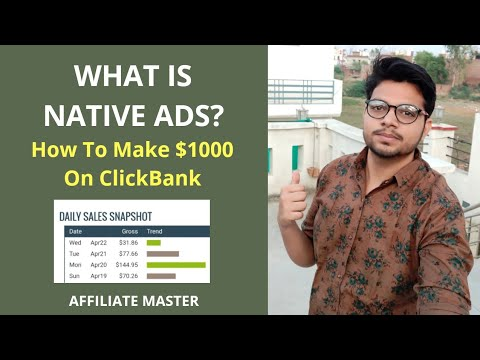 What Is Native Ads And How To Use It For Making Passive Income On ClickBank