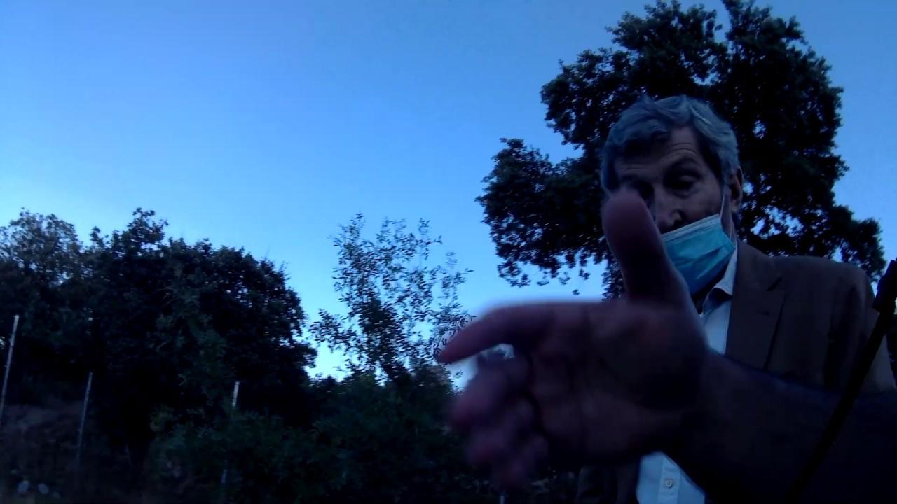 En Galapagar con el ex JEMAD Julio Rodriguez