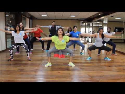 Zumba Warmup on Sean Paul She Doesnt Mind Remix  Vijaya