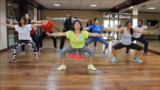 Zumba Warm-up on Sean Paul She Doesnt Mind Remix by Vijaya