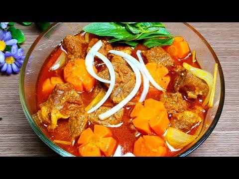 BÒ KHO - Cách Nấu Bò Kho Và Cách ướp thịt bò kho ngon nhanh mềm thấm gia vị - Tú Lê Miền Tây