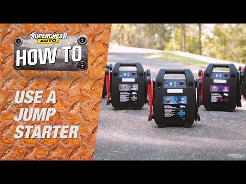 How to Use a Jump Starter // Supercheap Auto
