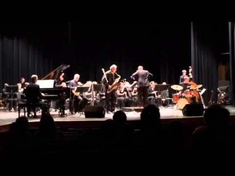 Medley - Saxophobia and Roseburg High School Wind Ensemble 2/10/14