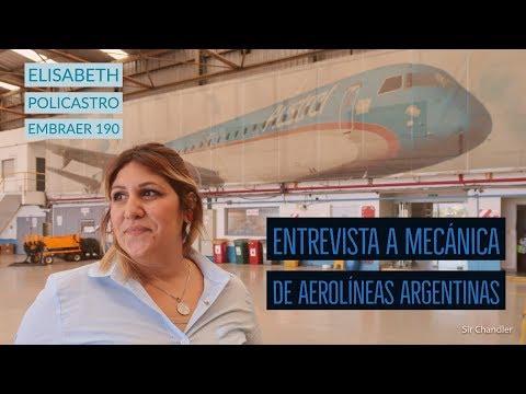Elisabeth Policastro - Mecánica Austral líneas aéreas