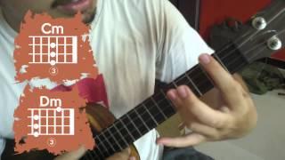 Pelajaran Ukulele #4 : Chord Shapes Minor   Akor Ukulele Minor