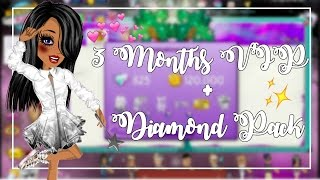 Getting 3 Months VIP & Diamond Pack!?! - MSP