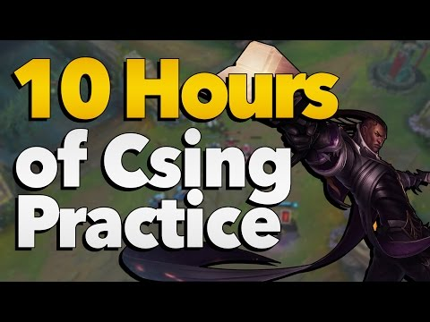 Results from 10 Hours of Last Hitting (CSing) Practice | League of Legends