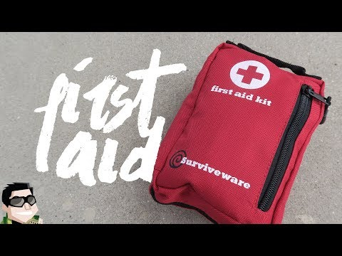 Surviveware First Aid Kit Review & Contents, You Need This!!