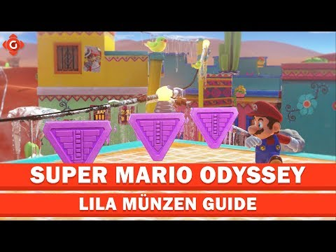 Super Mario Odyssey Part 11 Alle Power Monde Lila Münzen Im