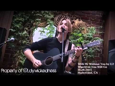 Alex Band/With or Without You/Wherever You Will Go (acoustic)