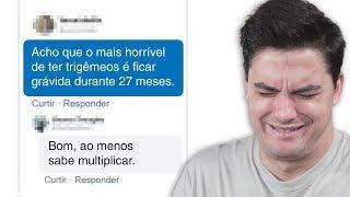 COMENTÁRIOS MAIS ENGRAÇADOS DA INTERNET!